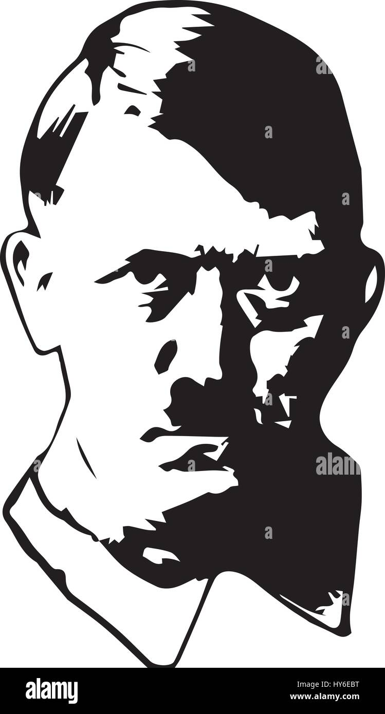 adolf hitler vector stock vector art  u0026 illustration  vector image  137211308