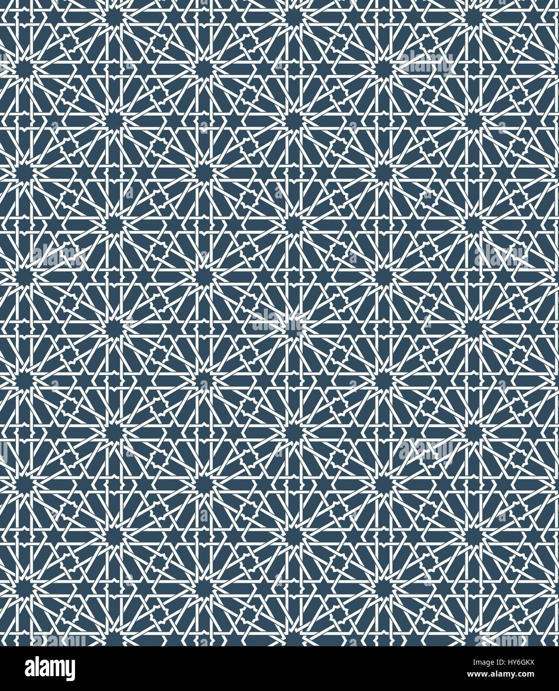 Moroccan Design Seamless Islamic Moroccan Pattern Arabic Geometric Ornament