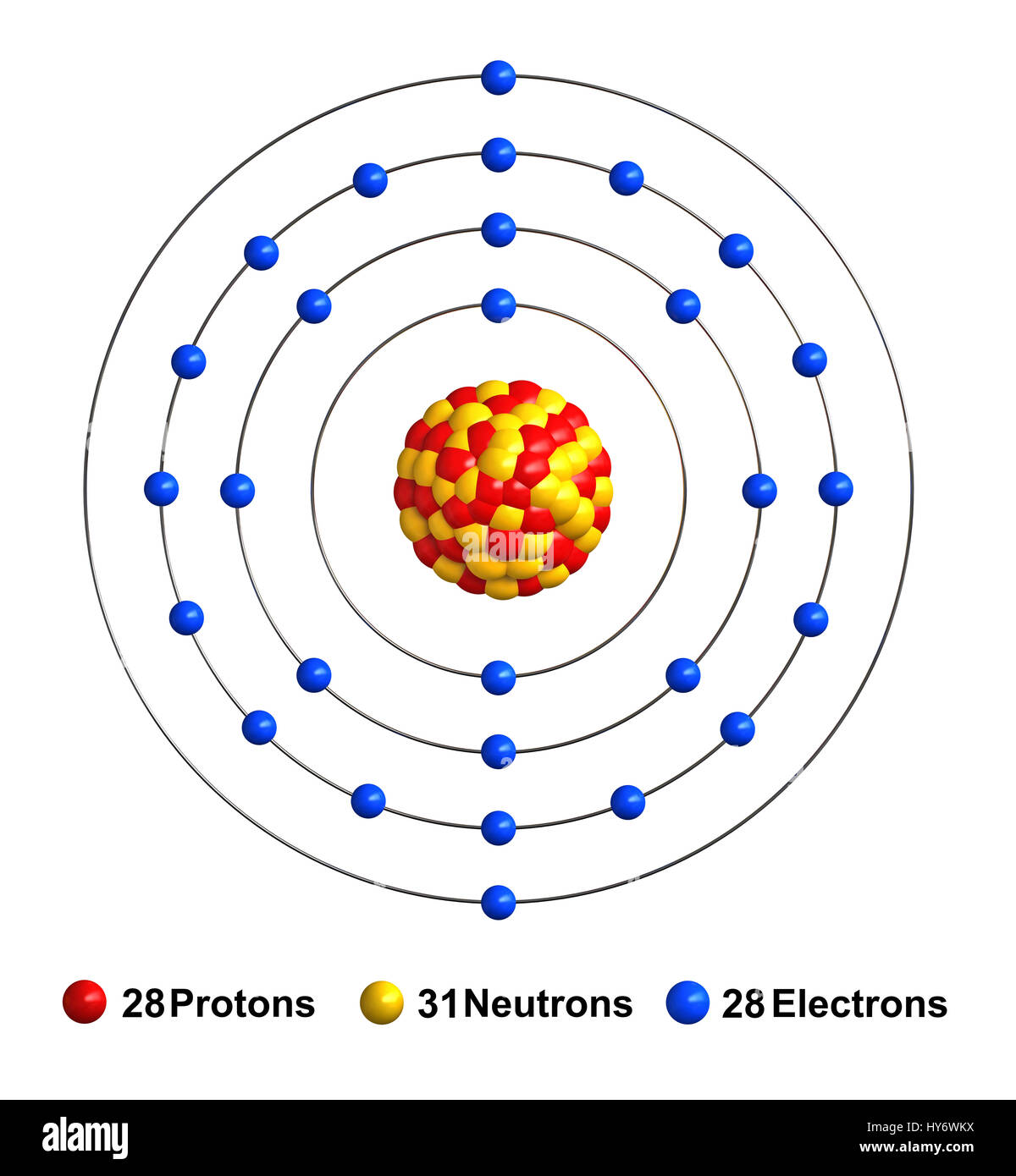 Nickel Atomic Structure Www Pixshark Com Images