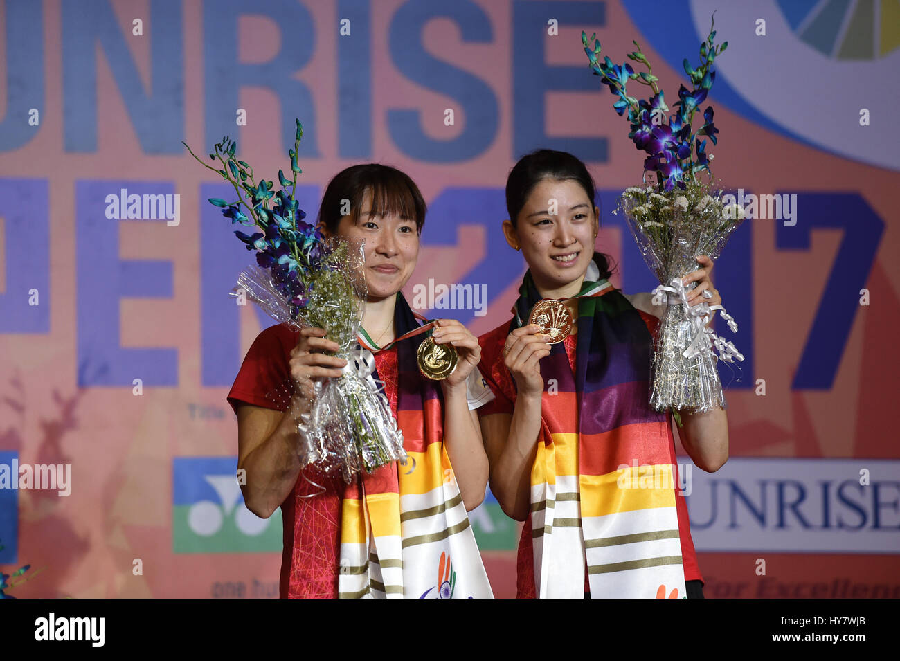 NEW DELHI April 2 2017 Xinhua Shiho Tanaka and