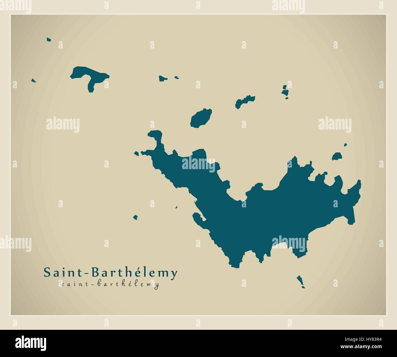 Modern map saint barthelemy bl stock vector art illustration modern map saint barthelemy bl publicscrutiny Choice Image