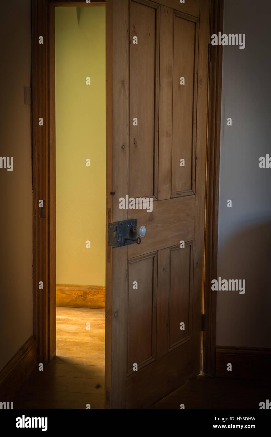 Door ajar & Door ajar Stock Photo: 137254597 - Alamy