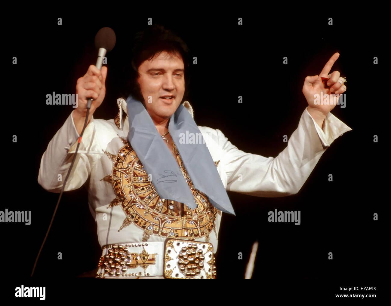 Elvis Presley Photos 1977