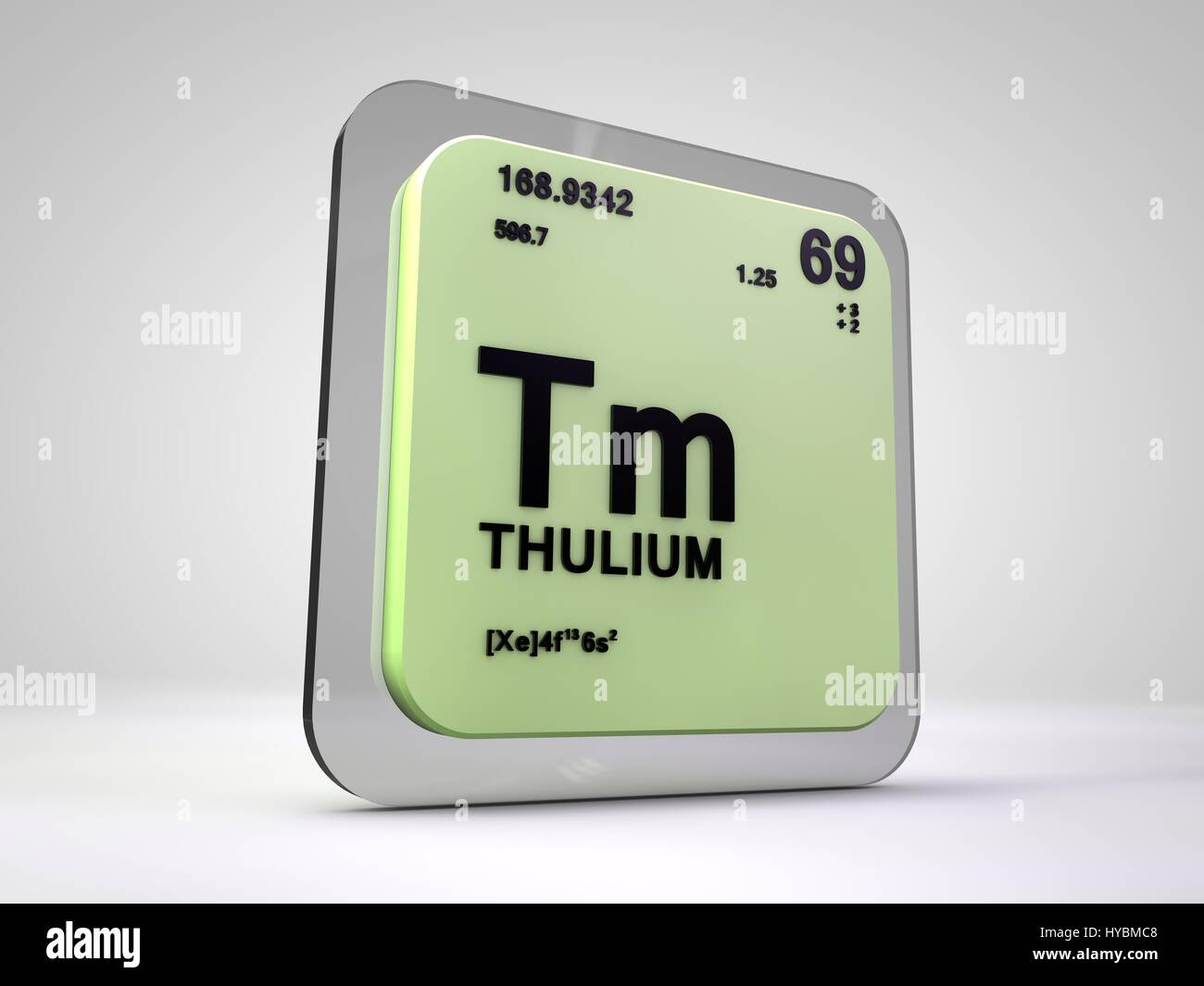 Thulium tm chemical element periodic table 3d render stock stock photo thulium tm chemical element periodic table 3d render gamestrikefo Gallery