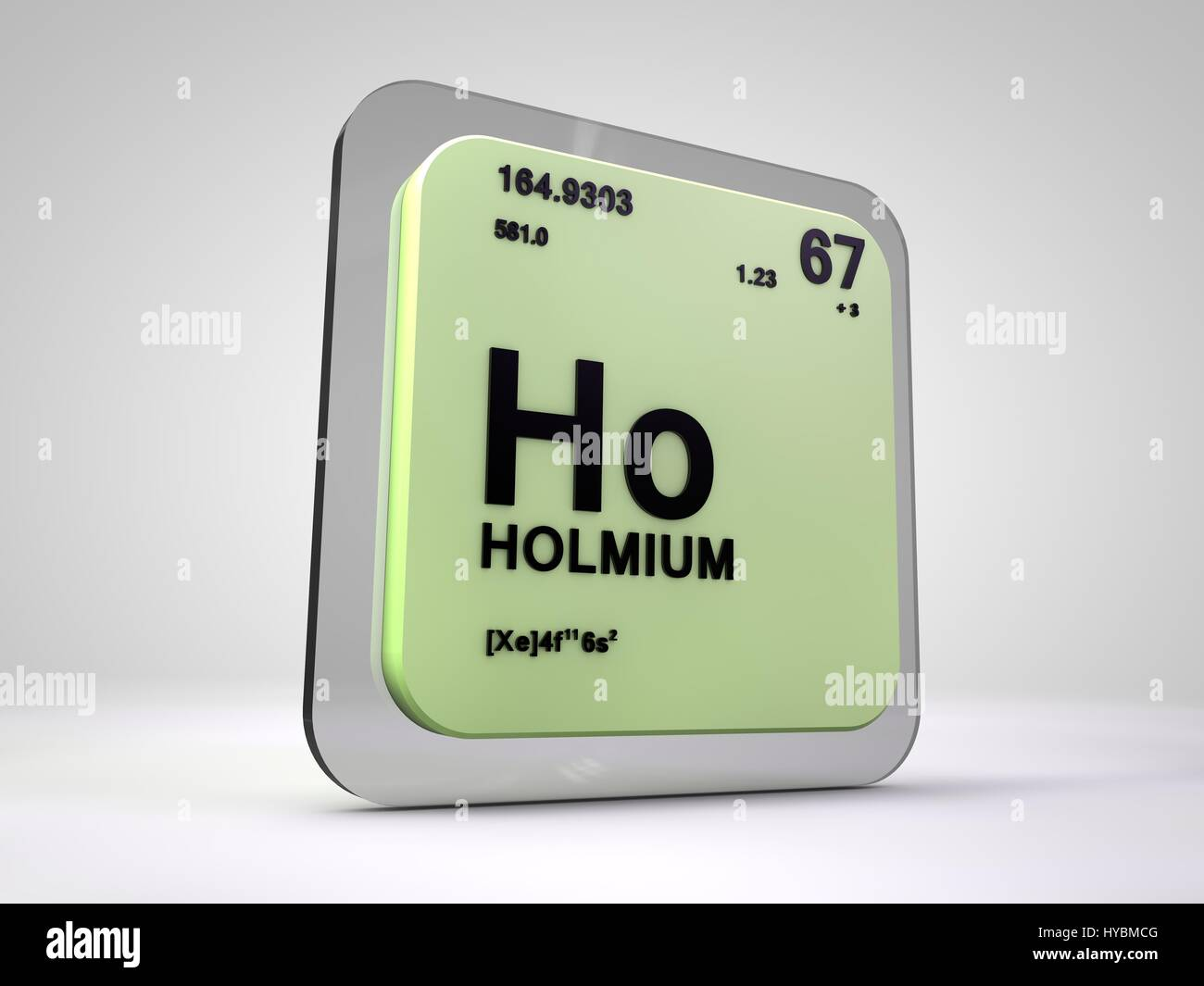 Holium ho chemical element periodic table 3d render stock photo stock photo holium ho chemical element periodic table 3d render gamestrikefo Images
