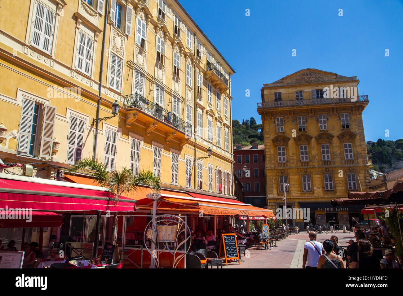 vieux nice old town nice france stock photo royalty free image 137370561 alamy. Black Bedroom Furniture Sets. Home Design Ideas