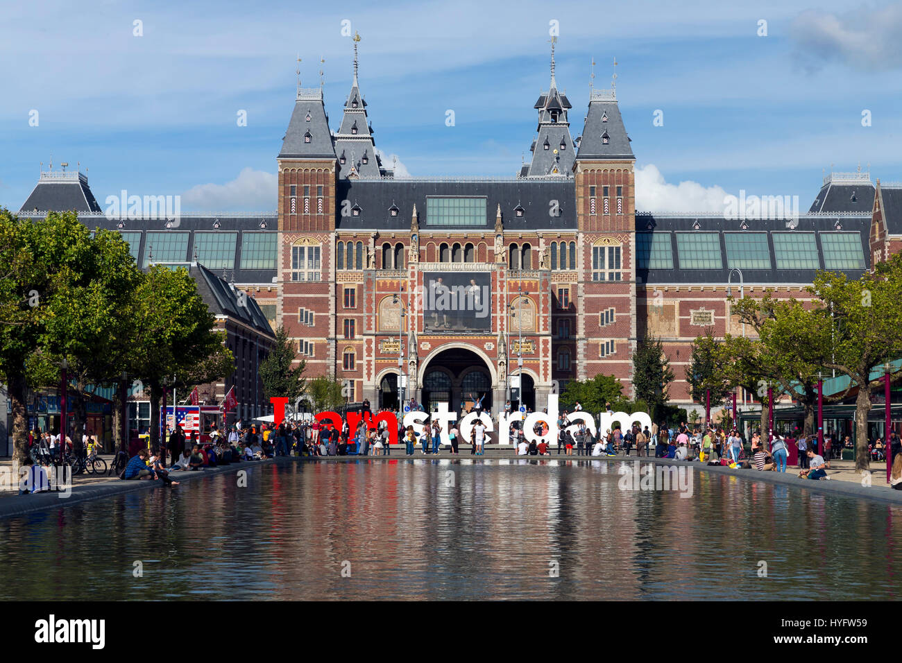 tourists and visitors near the i love amsterdam installation stock photo royalty free image. Black Bedroom Furniture Sets. Home Design Ideas