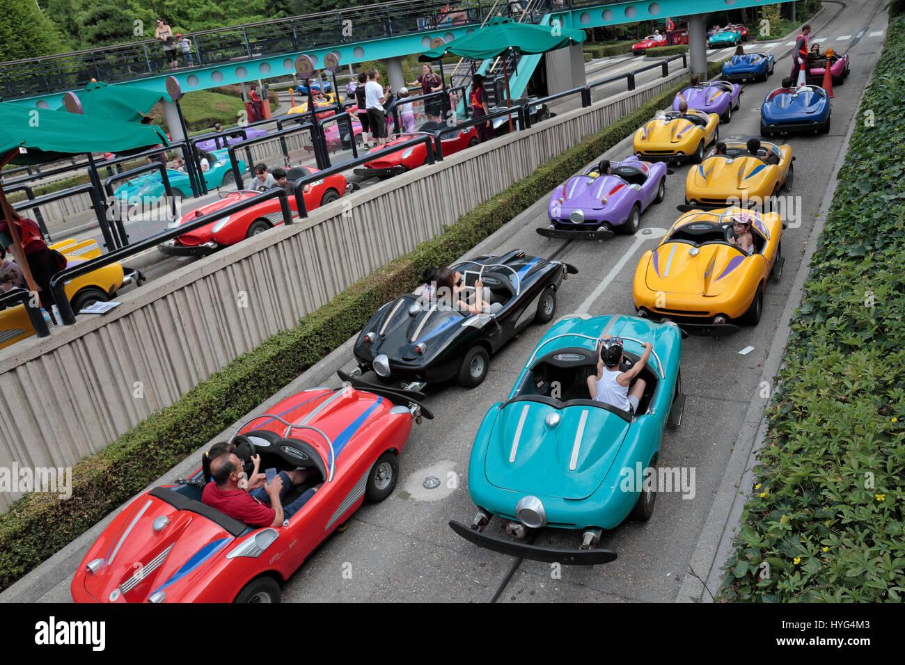 Disney Race Car Ride