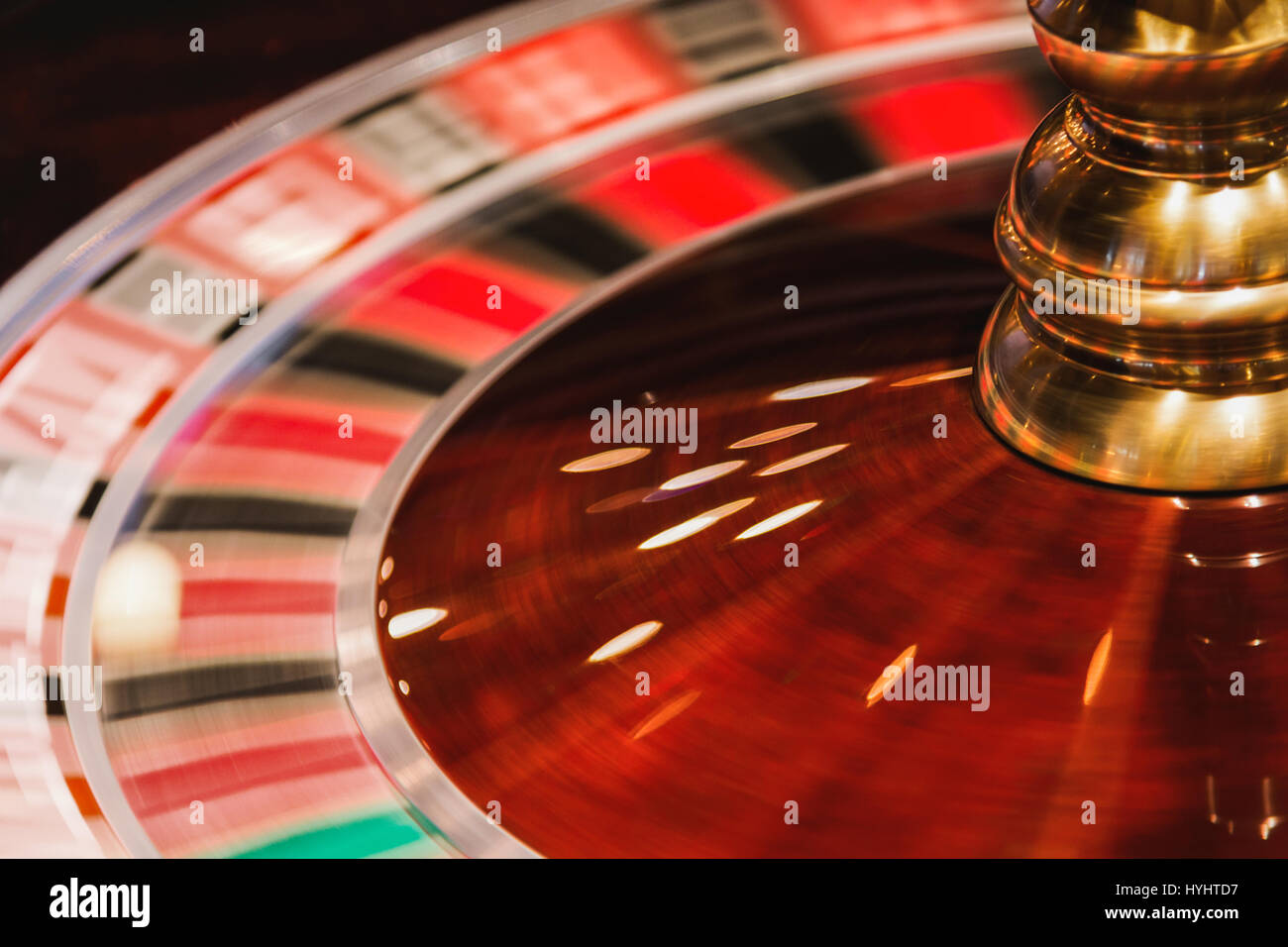 Wooden roulette buy black wooden roulette blackjack table led - Casino Roulette With White Ball In Motion Stock Image