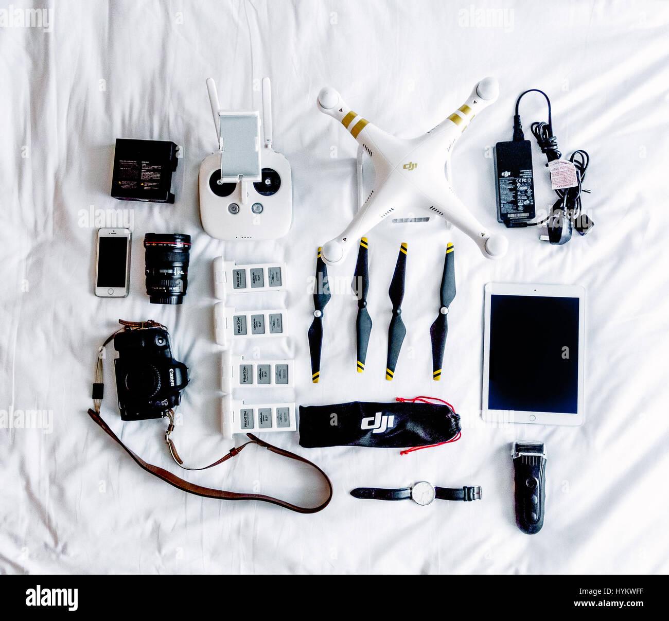 HONG KONG CHINA A Picture Of The DJI Phantom Professional - Incredible drone footage captures hong kong