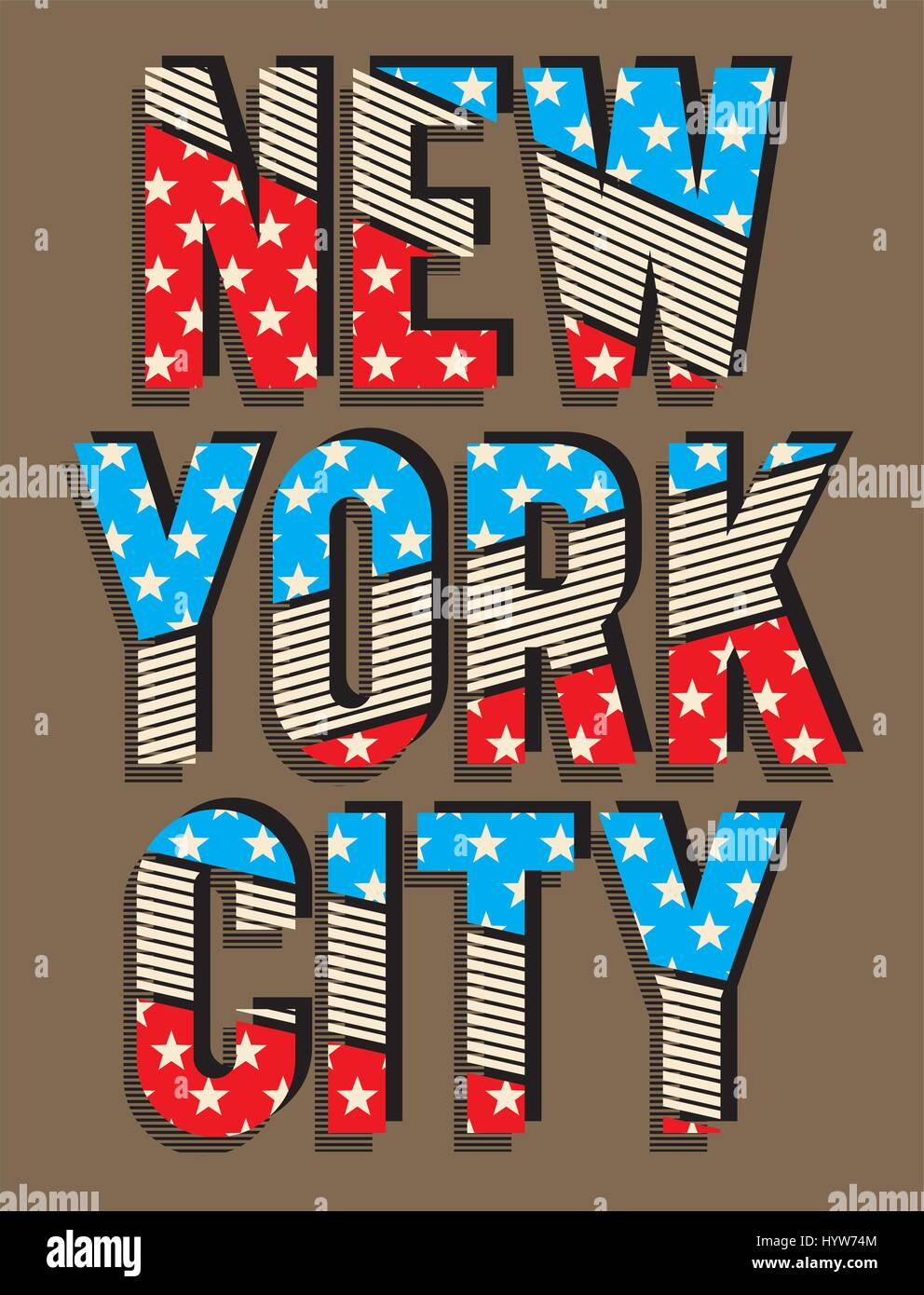 Design a t shirt nyc -  Retro New York Typography Design For T Shirt Poster Festival Vector Stock