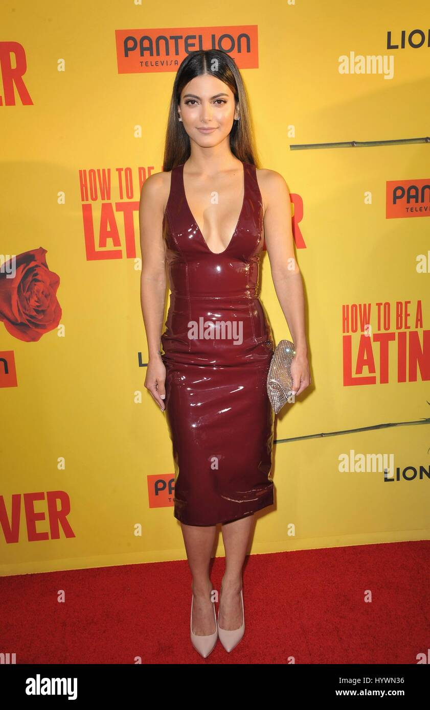 Maria Elena Davila At Arrivals For How To Be A Latin Lover Premiere,  Arclight Hollywood Cinerama Dome, Los Angeles, Ca April 26, 2017