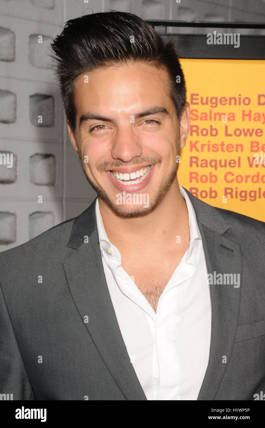Actor Vadhir Derbez At The ''how To Be A Latin Lover'' Premiere