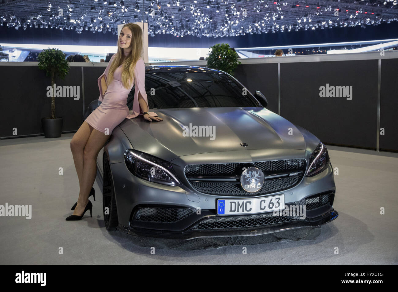 geneva switzerland march 8 2017 dmc mercedes amg c63. Black Bedroom Furniture Sets. Home Design Ideas