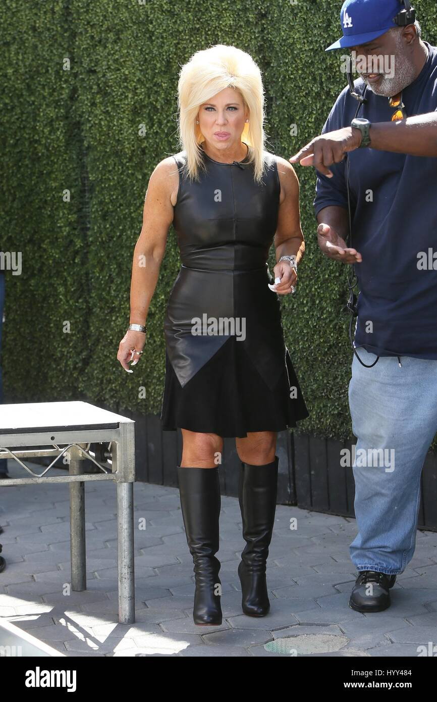 Interviewed By The Tarot: Theresa Caputo Seen At Universal Studios Where She Was