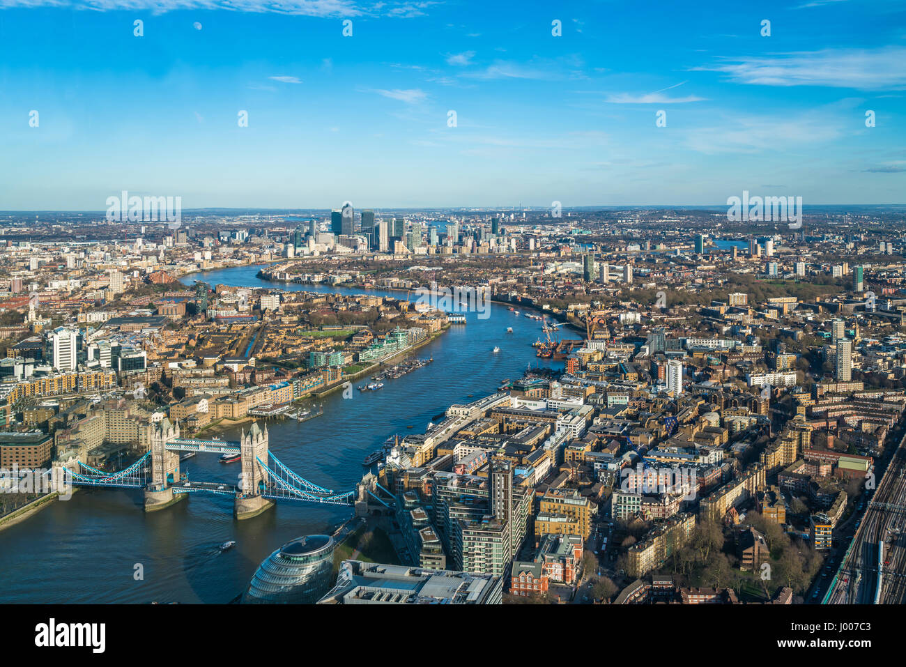 Uncategorized Panoramic Views Of London london uk march 09 2017 panoramic aerial view of with river thames tower bridge and modern skyscrapers which form ca