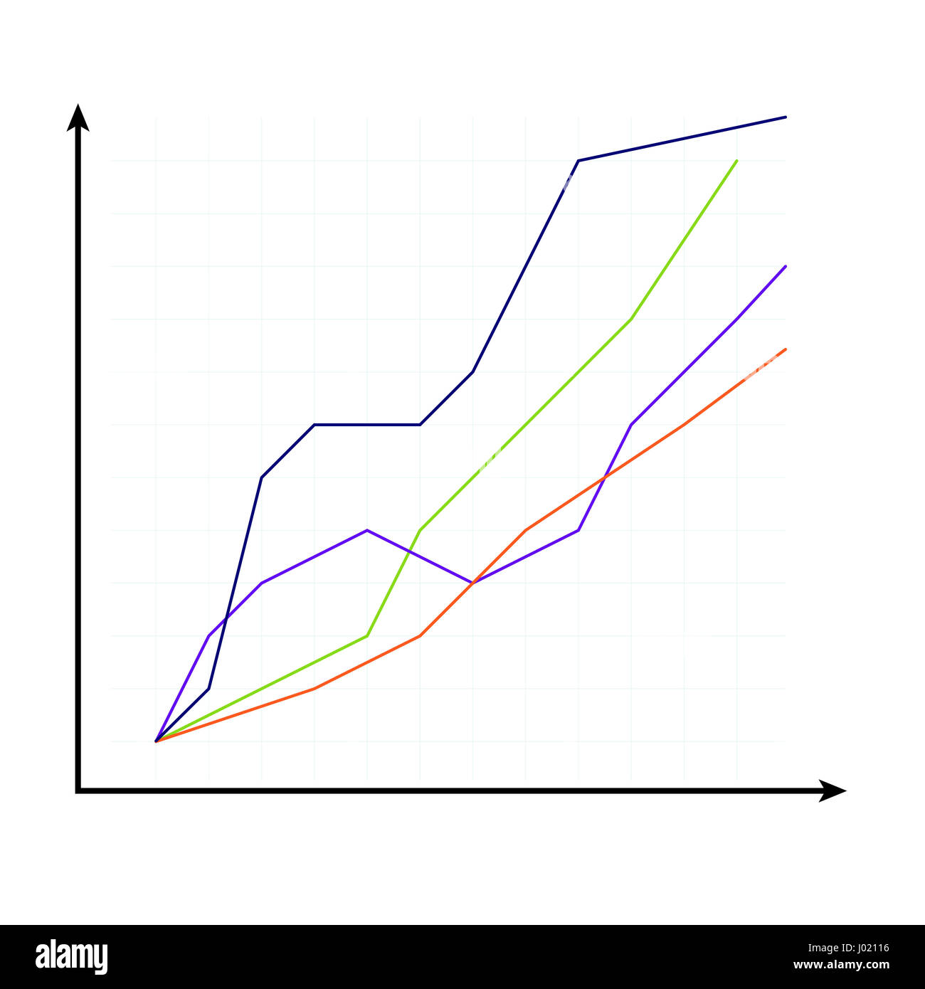 Template of curve chart growth finance report vector template of curve chart growth finance report vector illustration nvjuhfo Choice Image