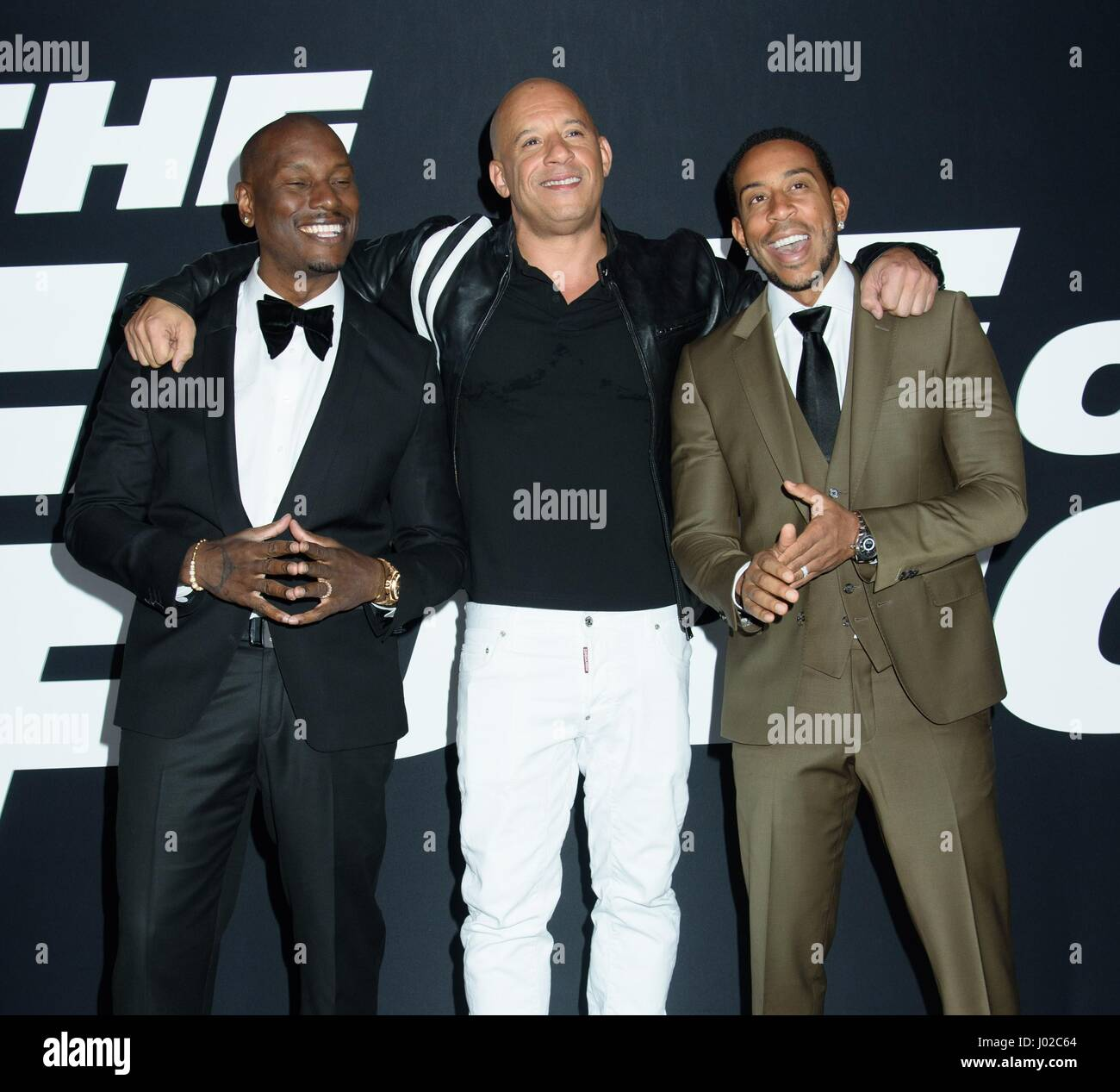 Pics photos tyrese gibson picture 8 - Tyrese Gibson Vin Diesel And Ludacris At Arrivals For The Fate Of The Furious Premiere Radio City Music Hall New York Ny April 8 2017