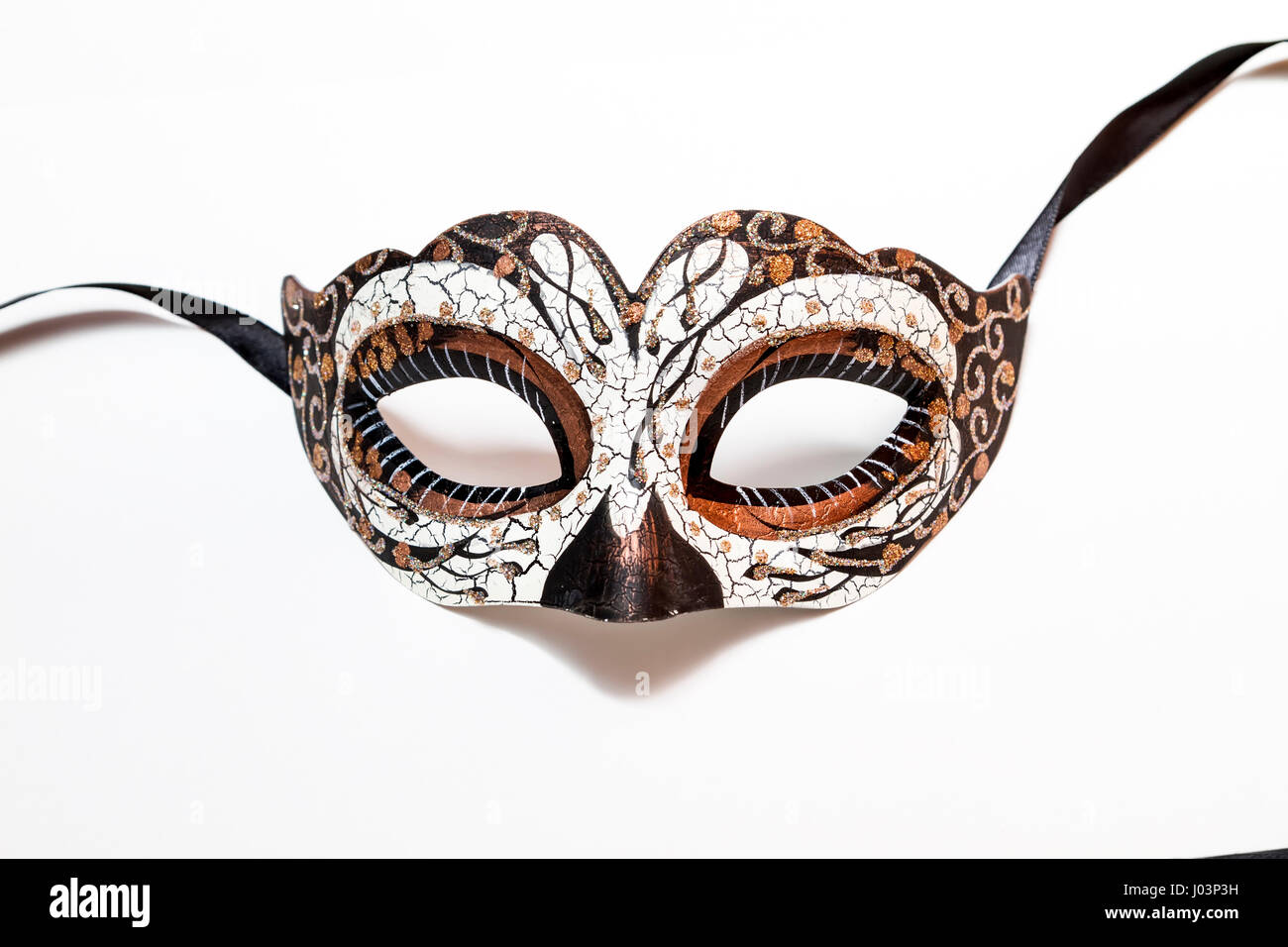 Carnival Halloween mask isolated on white background. Soft Focus ...