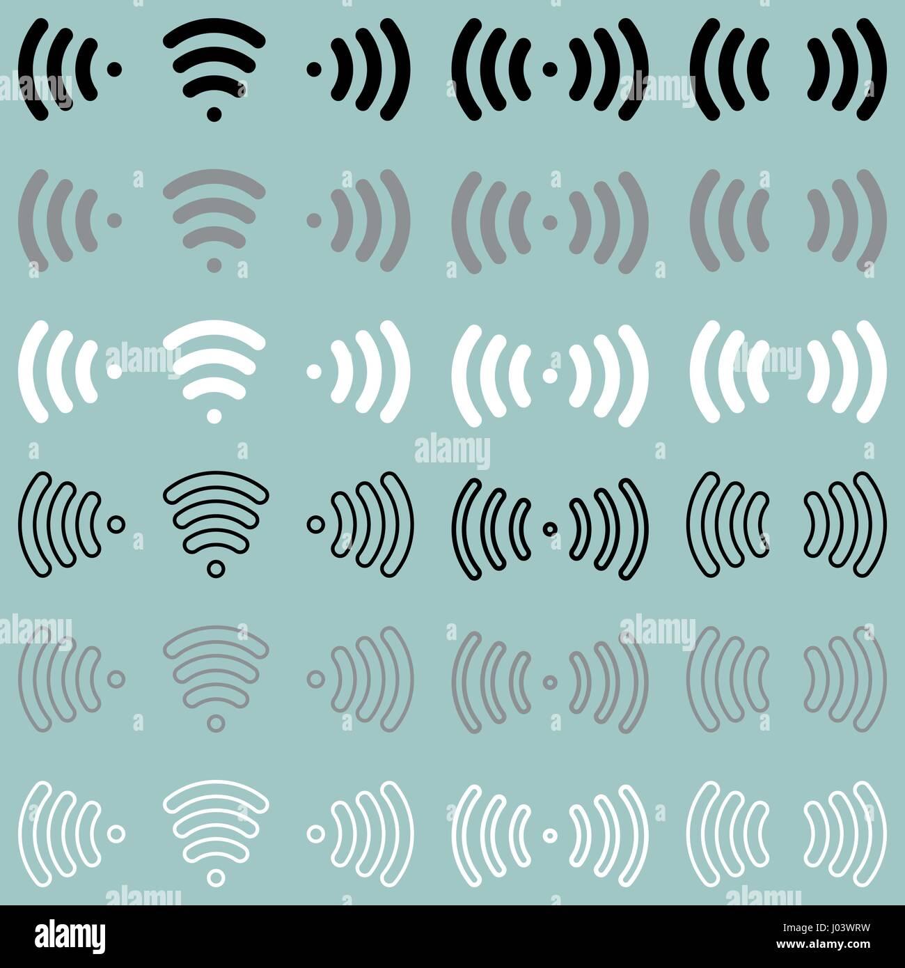 Radio Signal Icon