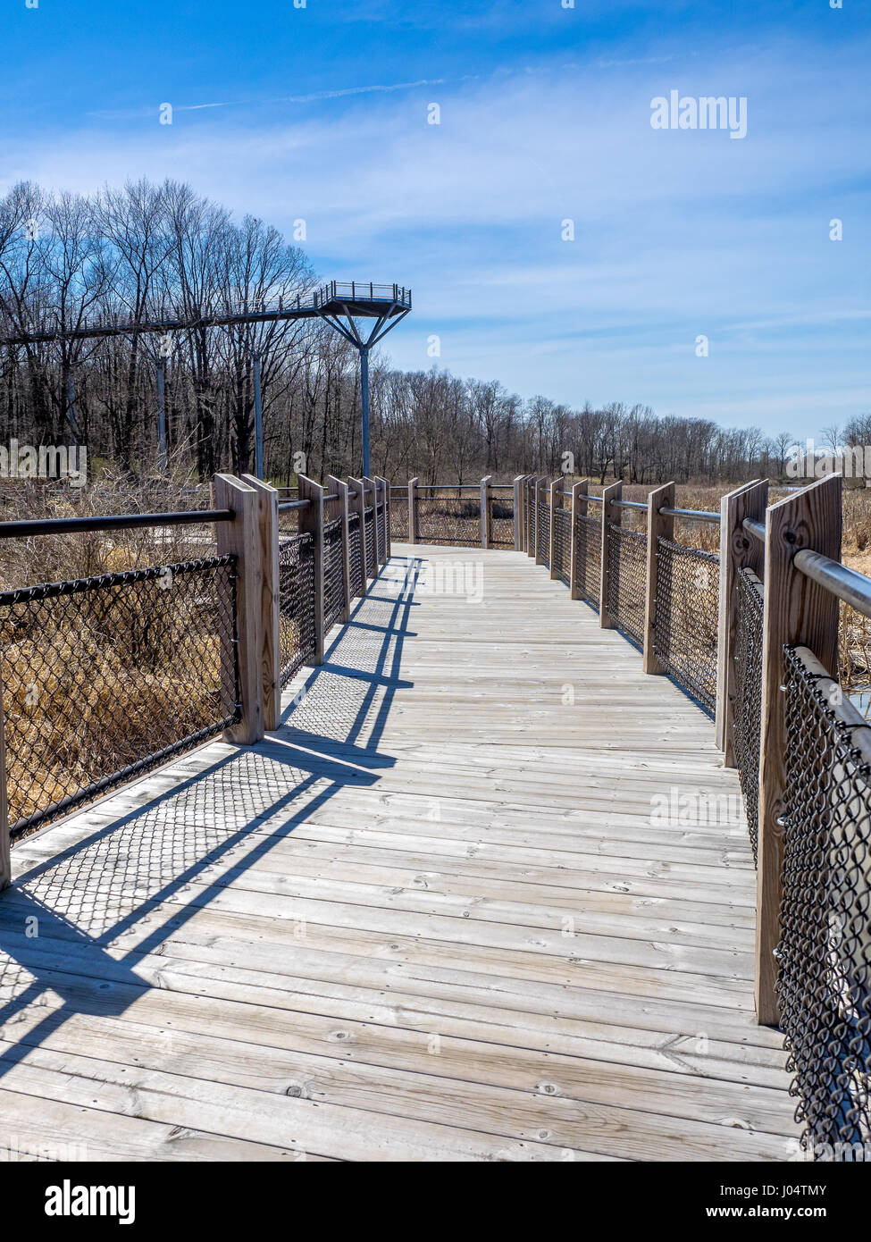 high and low canopy boardwalks Galien River County Park Michigan & high and low canopy boardwalks Galien River County Park Michigan ...