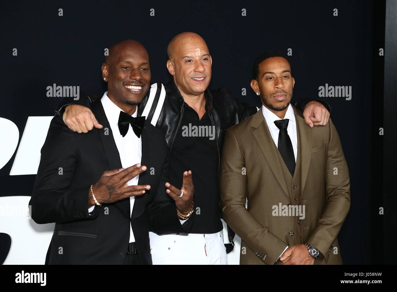 Pics photos tyrese gibson picture 8 - Tyrese Gibson Vin Diesel Ludacris At Arrivals For The Fate Of The Furious Premiere Radio City Music Hall New York Ny April 8 2017