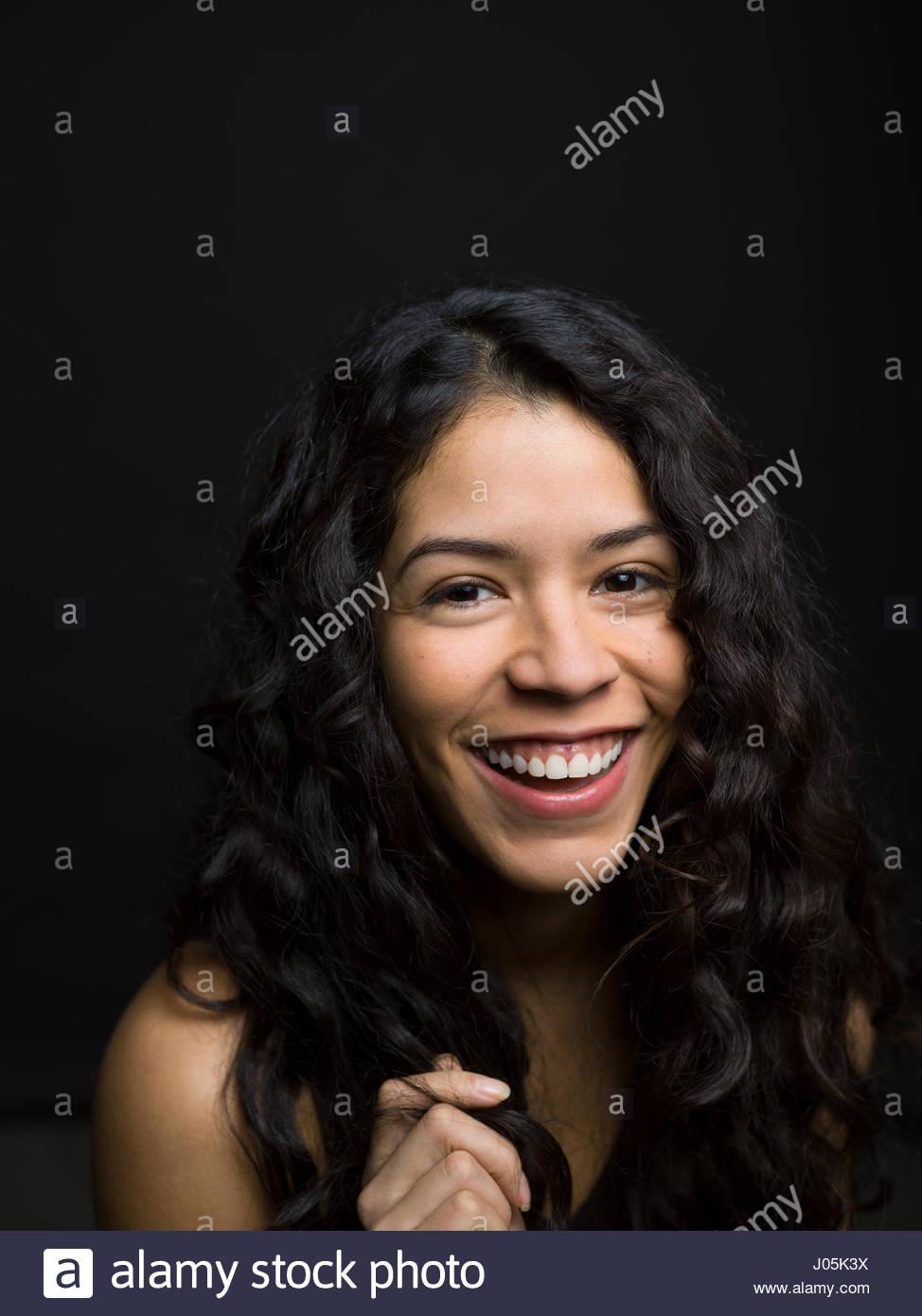 Latina black facial