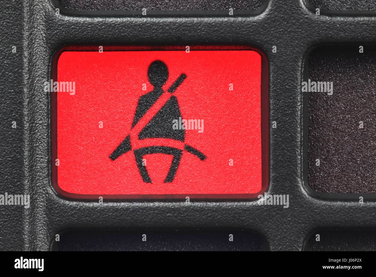 Seatbelt Warning Light In Car Dashboard Stock Photo Royalty Free - Car image sign of dashboarddashboard warning lights stock images royaltyfree images
