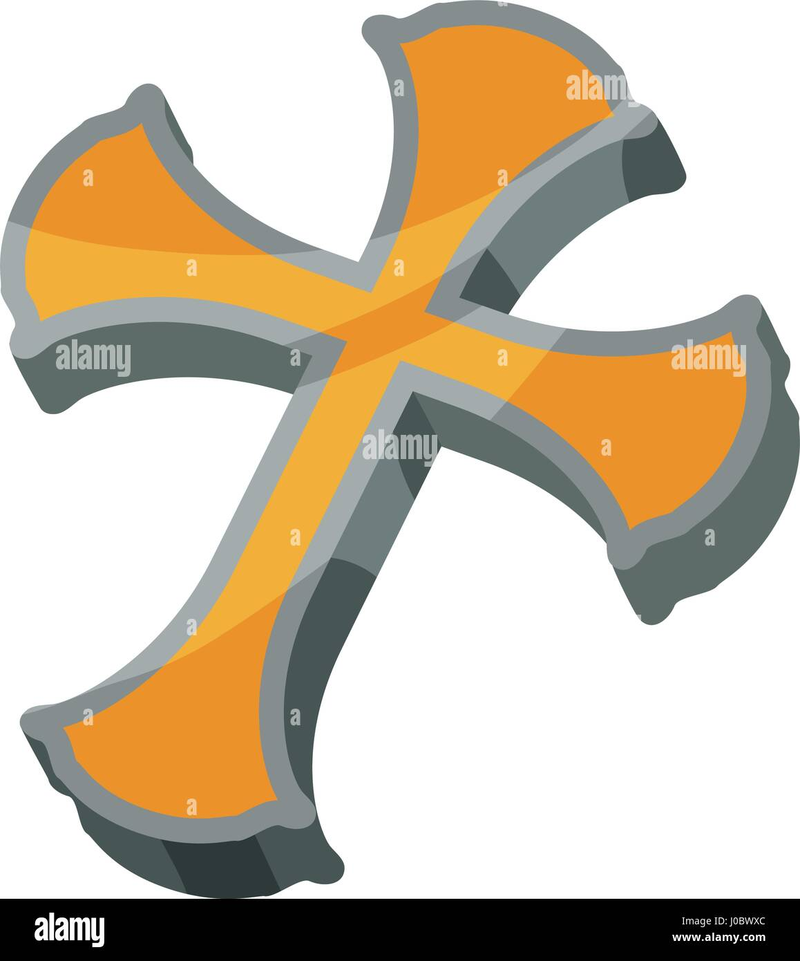 Christianity cross symbol stock vector art illustration vector christianity cross symbol biocorpaavc Gallery