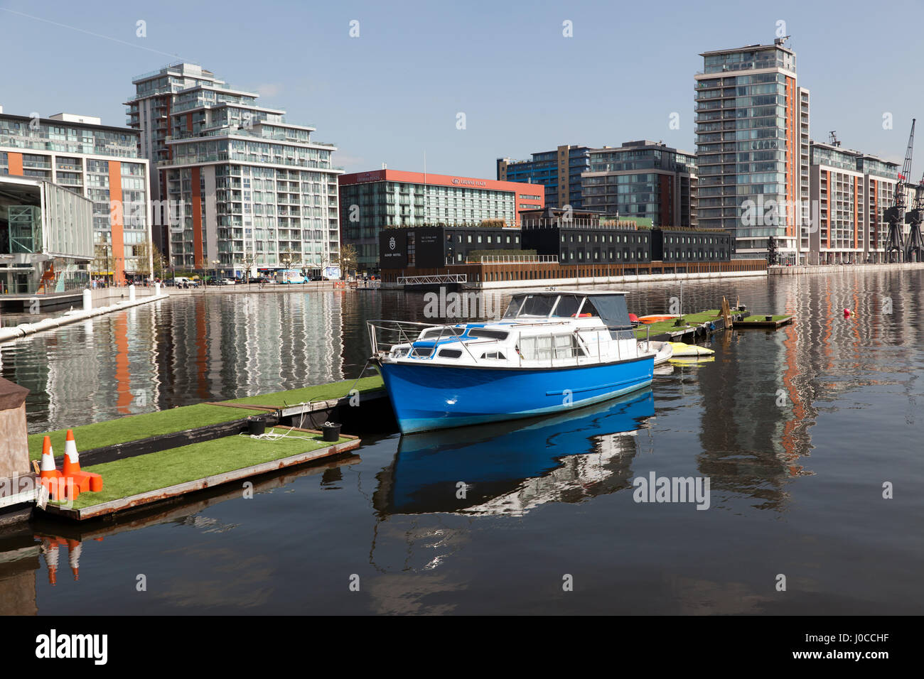 The Western Gateway Of The Royal Victoria Dock Newham London Stock Photo Royalty Free Image