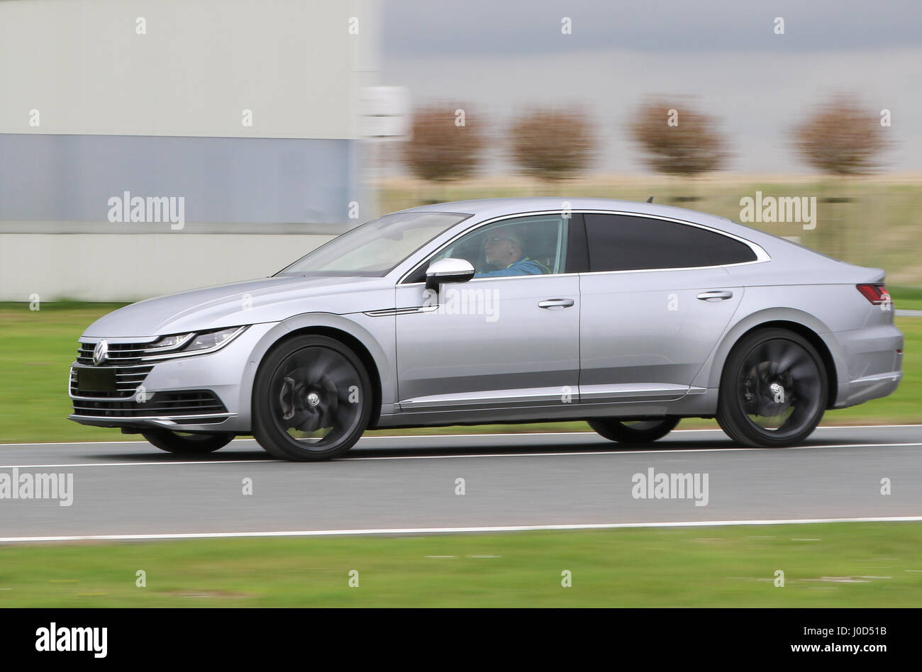 emden germany 12th apr 2017 a new vw arteon can be. Black Bedroom Furniture Sets. Home Design Ideas