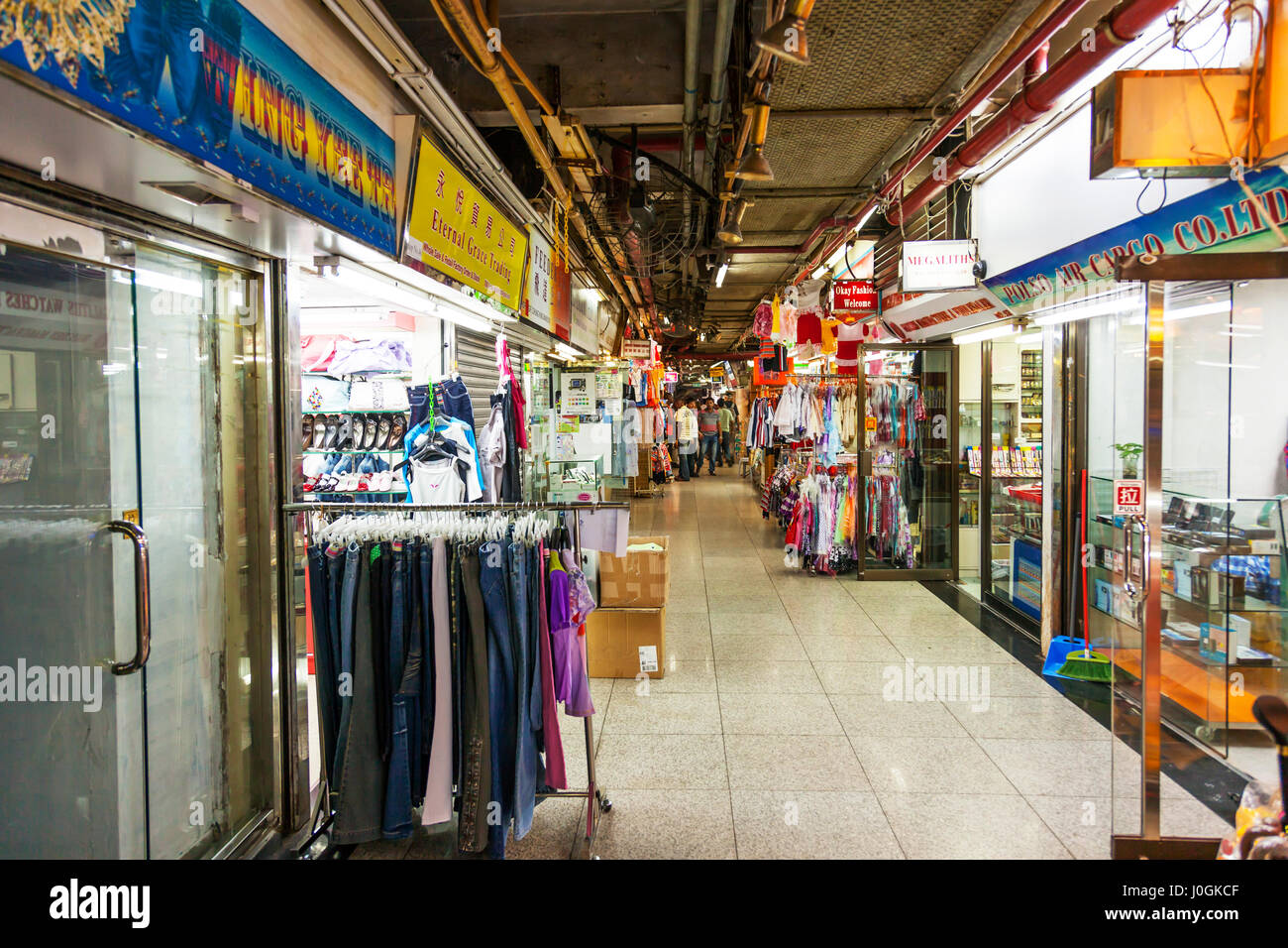 inside chungking mansions chungking mansions is a building located at stock photo 138049423 alamy. Black Bedroom Furniture Sets. Home Design Ideas