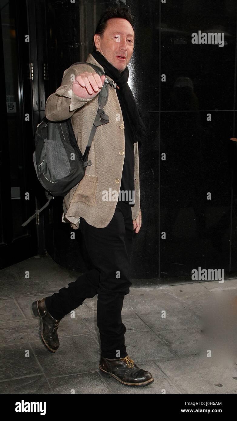 New York, NY, USA. 13th Apr, 2017. Julian Lennon, son of ...