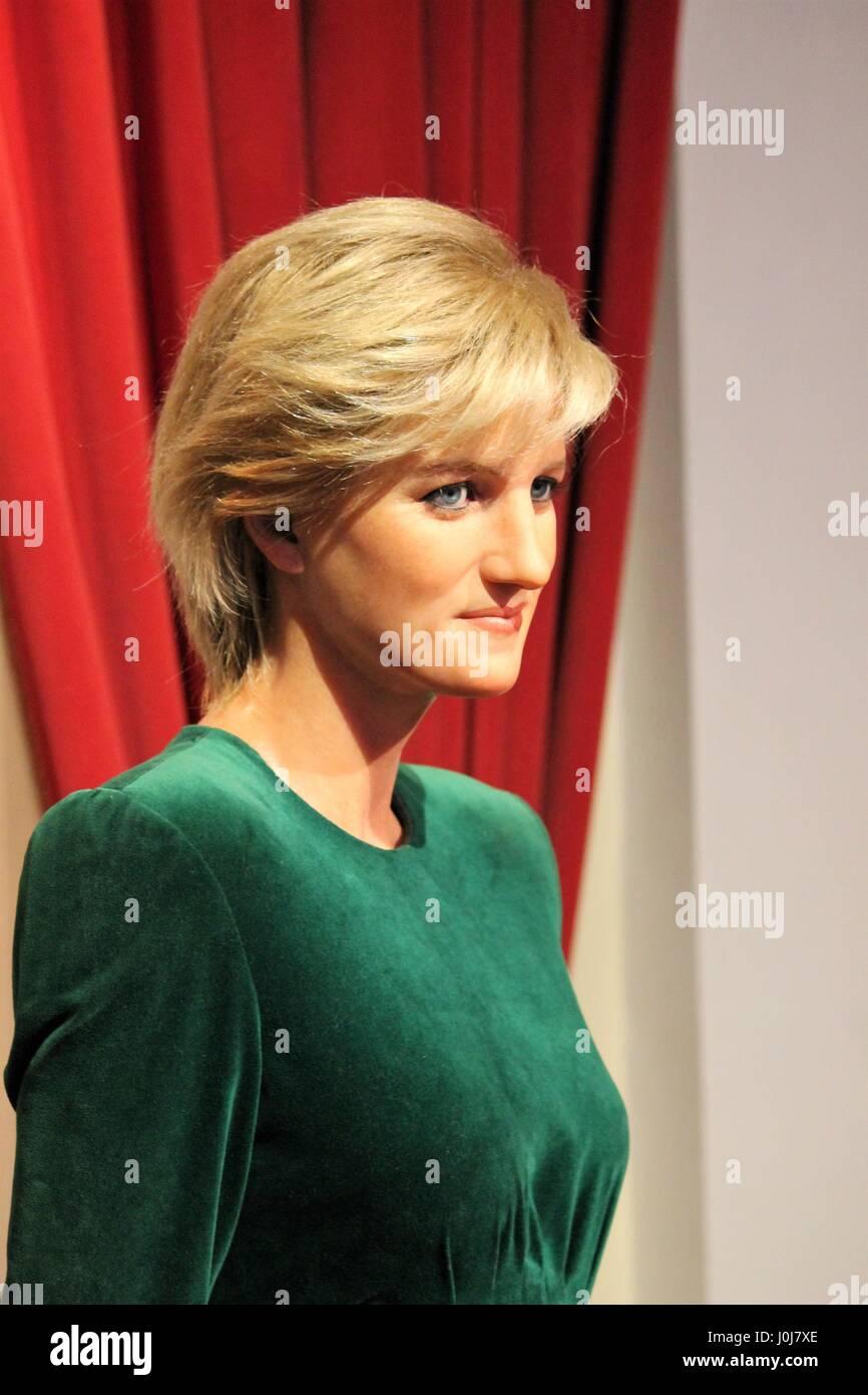 Princess Diana, London, United Kingdom - March 20, 2017: Princess ...