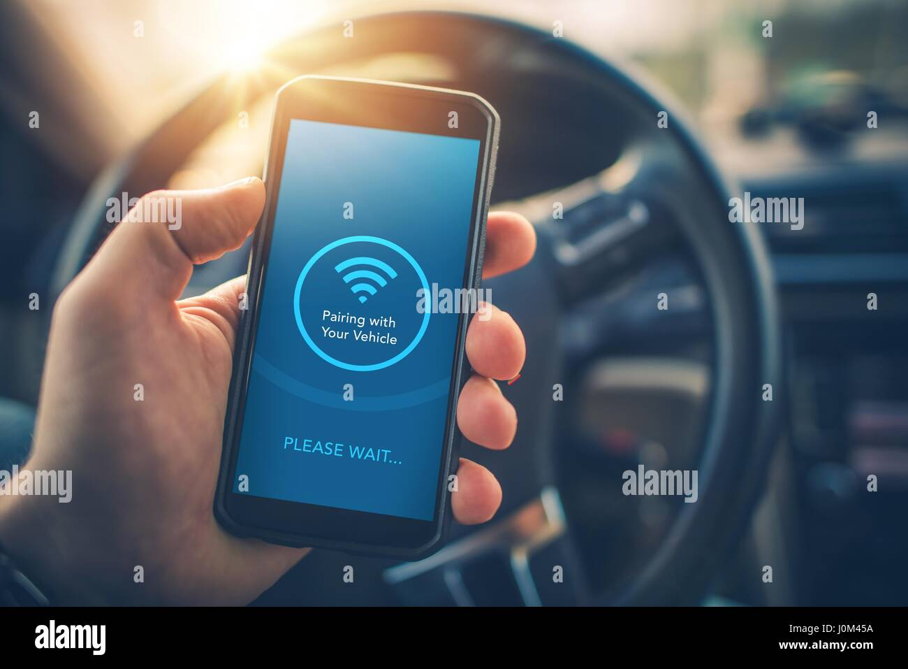 Pairing Smartphone With Car Multimedia Audio System Using Mobile