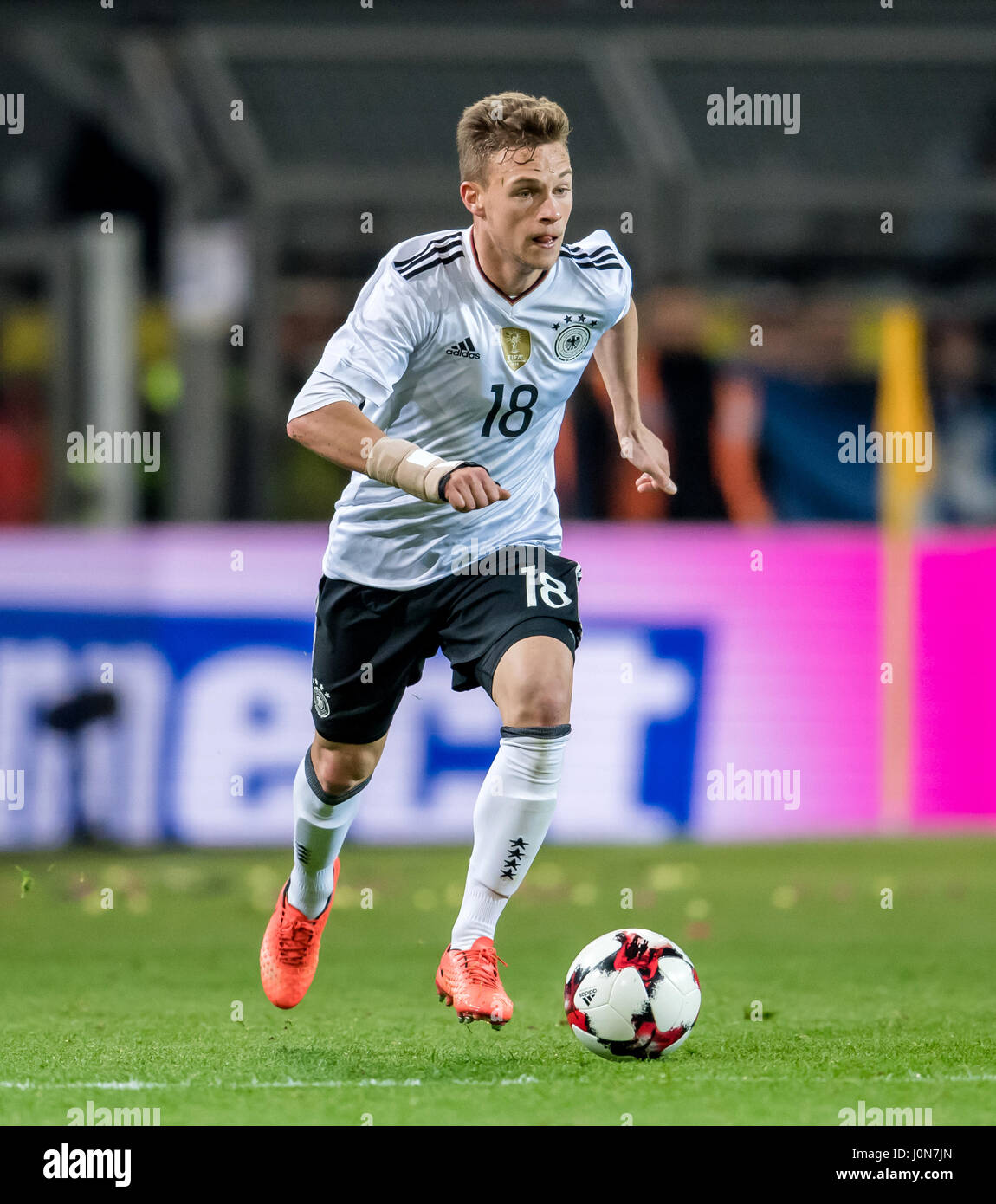 Germany s Joshua Kimmich in action during the national soccer