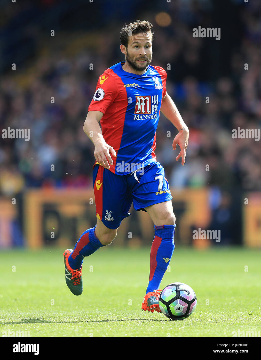 Crystal Palace s Yohan Cabaye during the Premier League match at