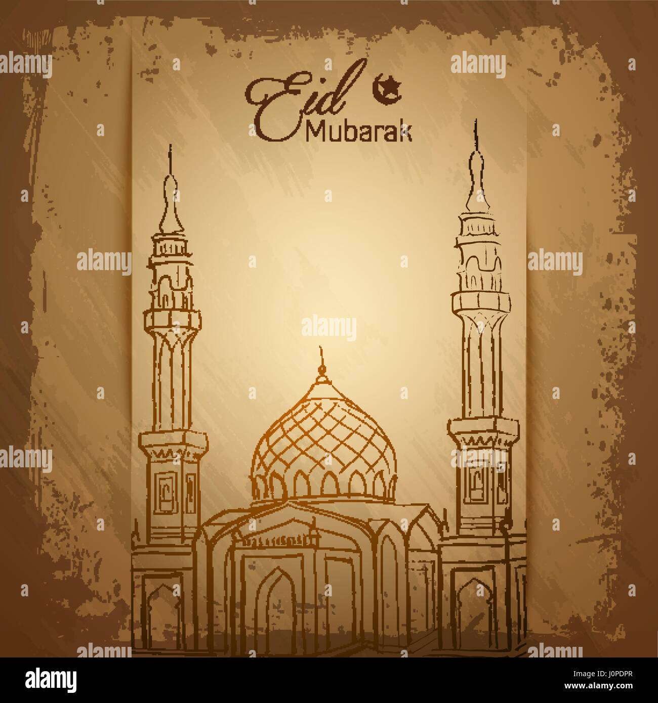 Eid mubarak islamic greeting card background stock vector art eid mubarak islamic greeting card background kristyandbryce Image collections