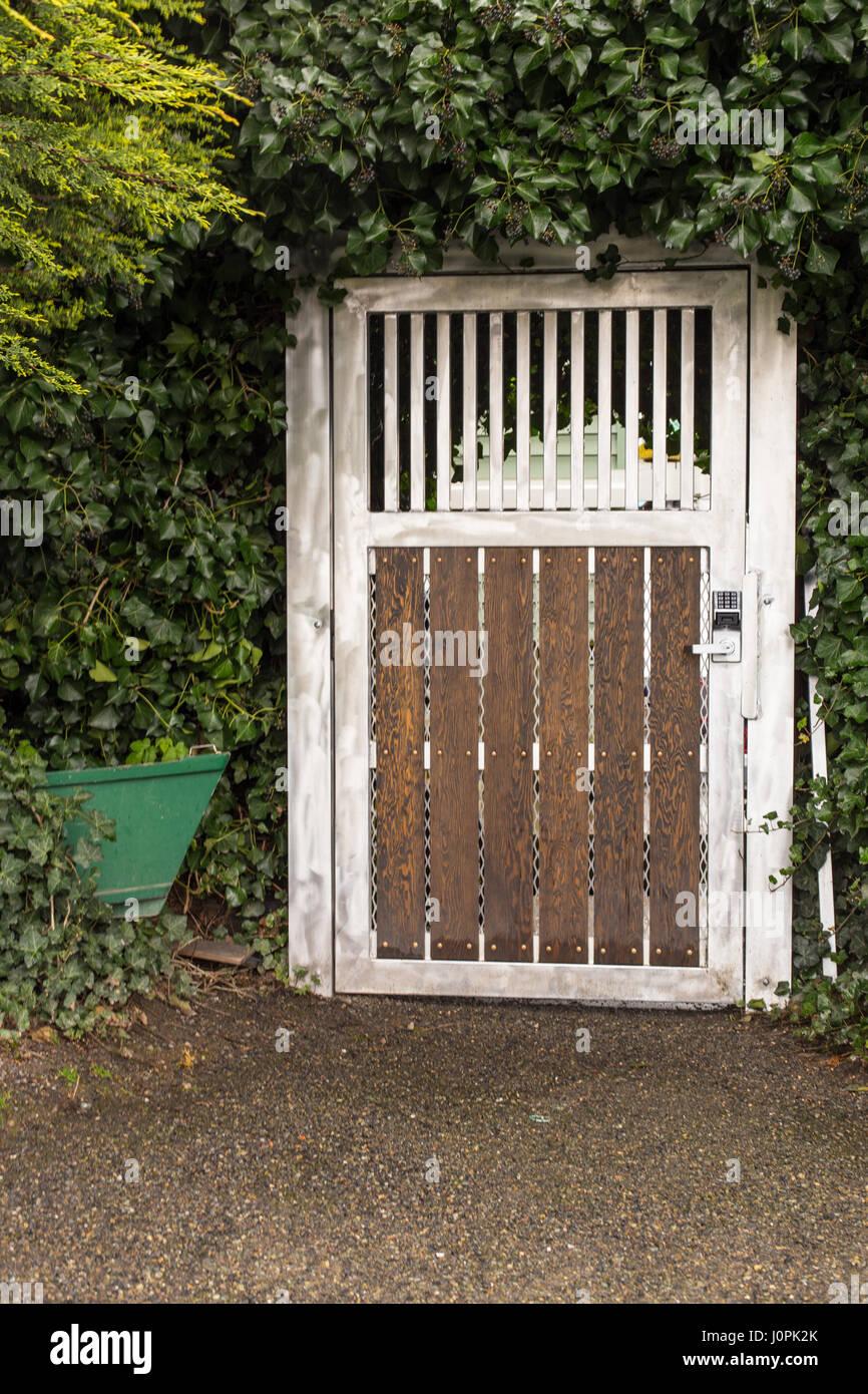 Hidden door in a bush & Hidden door in a bush Stock Photo Royalty Free Image: 138180859 - Alamy