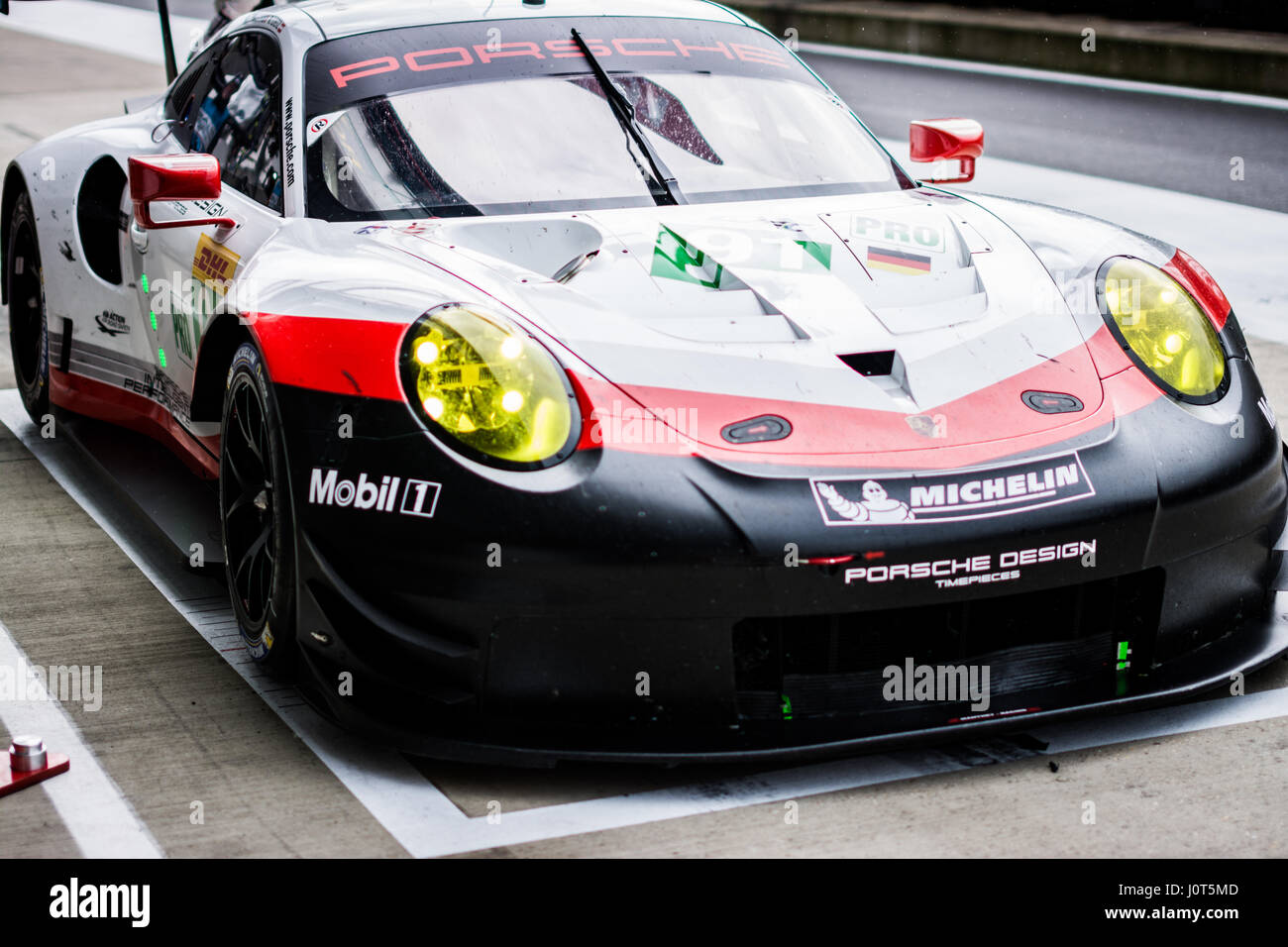 Towcester Northamptonshire Uk 16th Apr 2017 Fia Wec Racing Team Stock Photo Royalty Free
