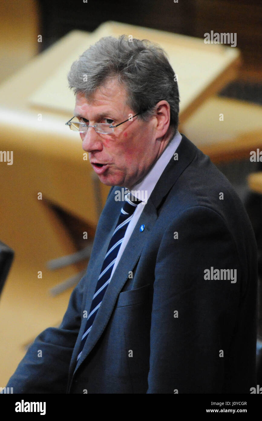Scottish Cabinet Secretary for Justice Kenny MacAskill introduces ...