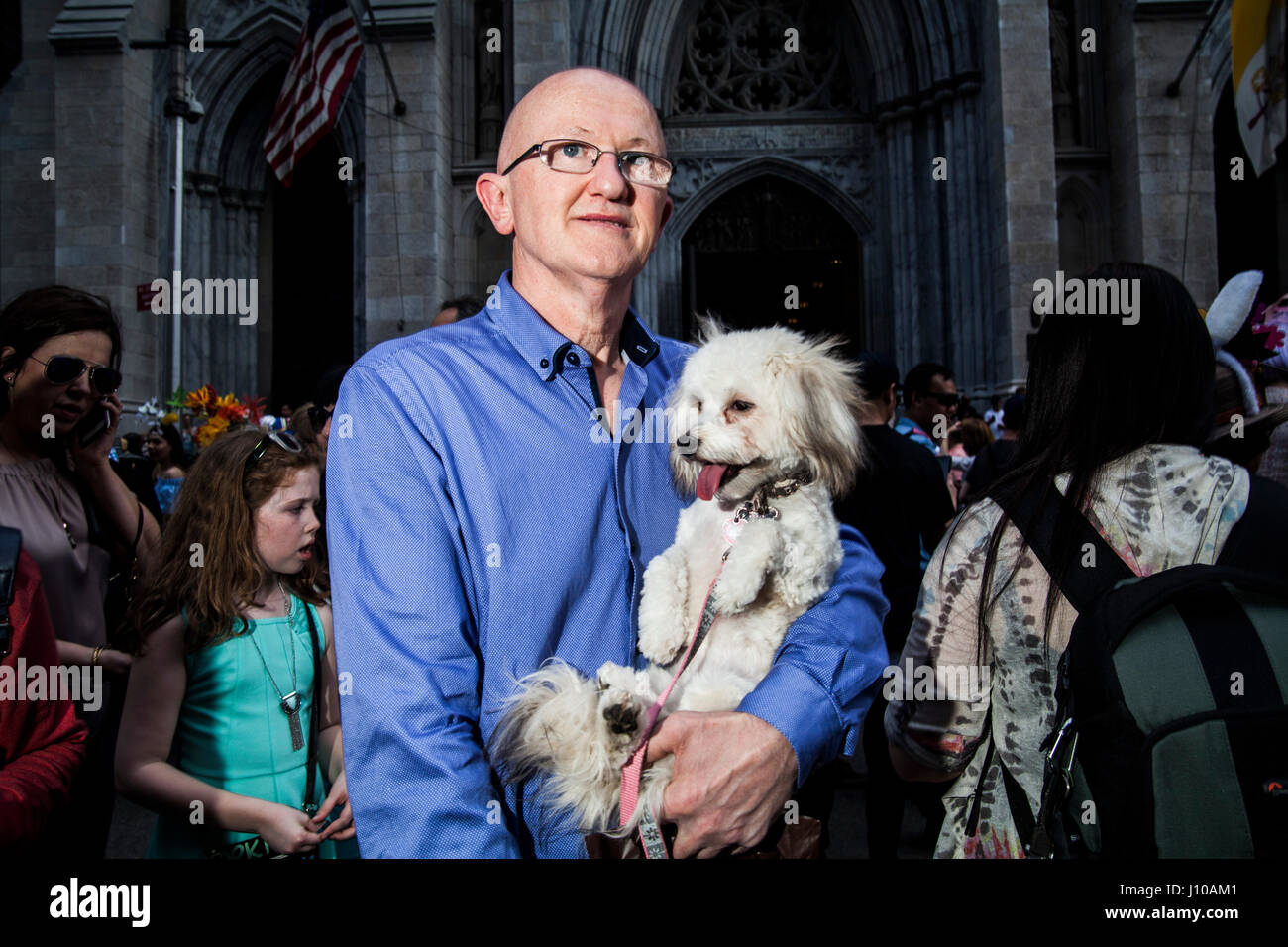 Dress up new york - New York Usa 16th Apr 2017 New Yorkers And Their Pets Dress Up In Colourful Outfits For The City S Annual Easter Parade