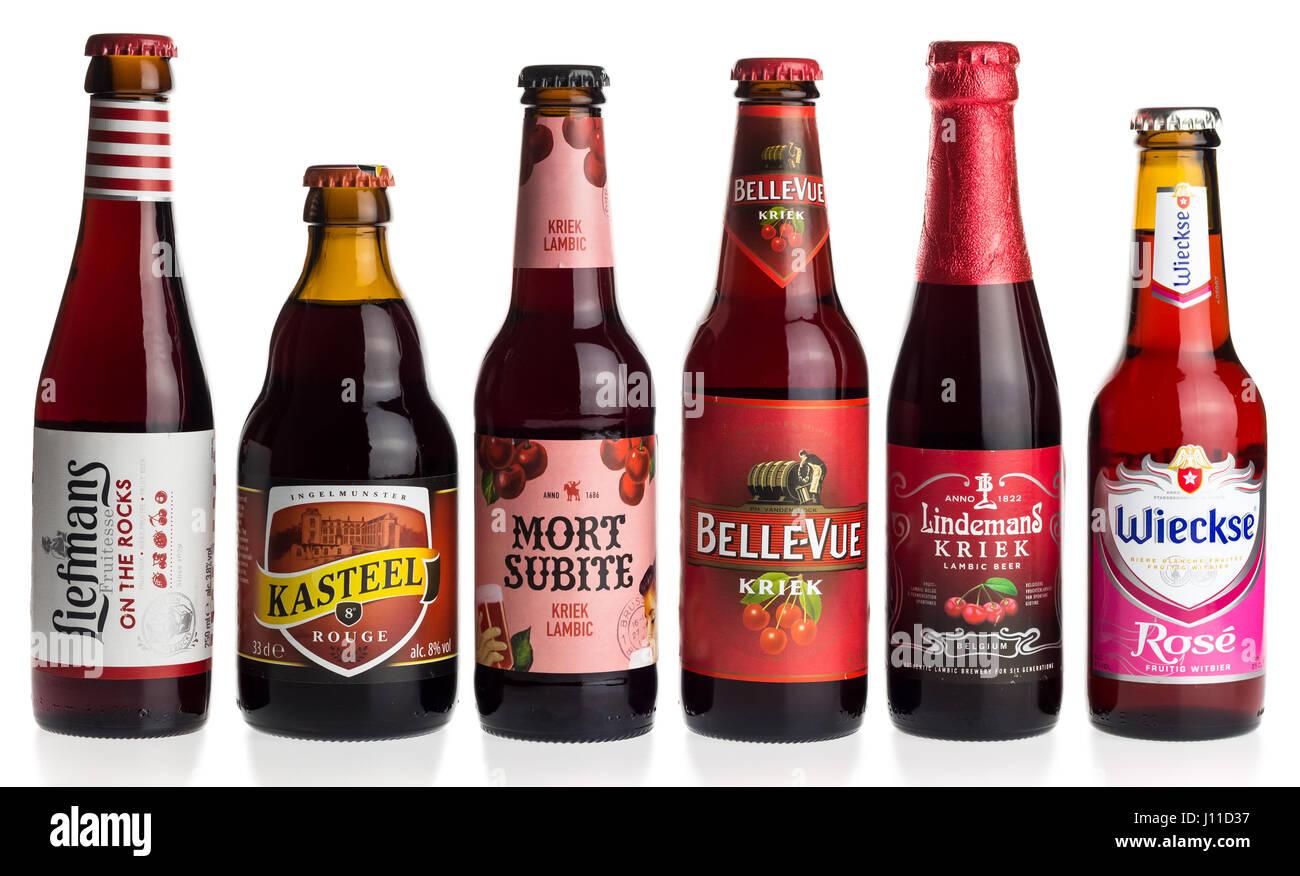 Lindemans Kriek 25cl - Buy Lindemans Beer Online – Belgianbeerz.com