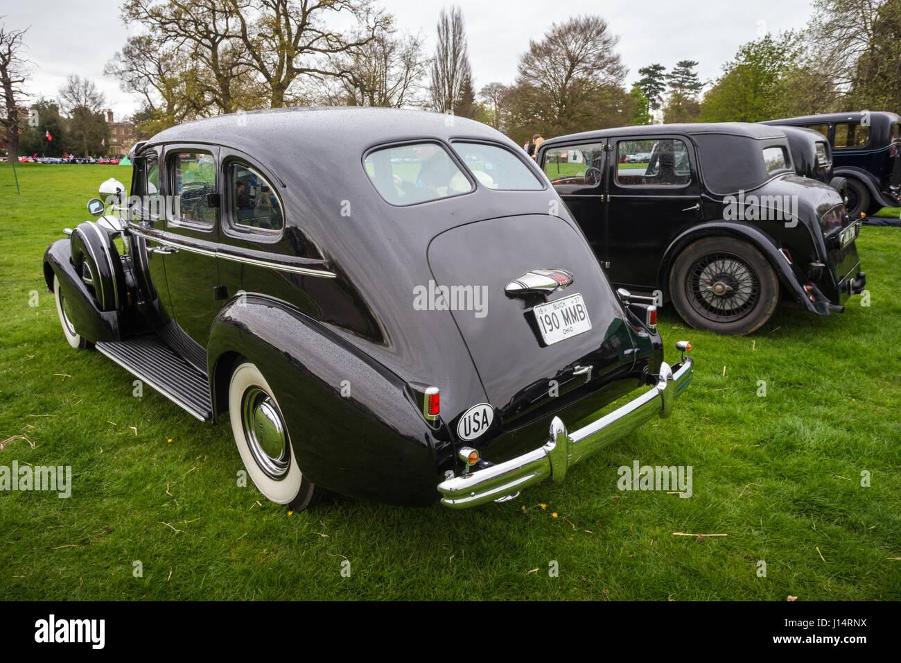 Classic cars vehicle at show UK Stock Photo, Royalty Free Image ...