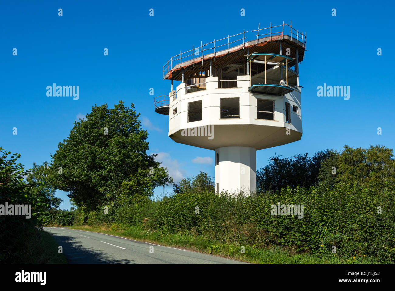 Netchwood Water Tower Was Being Converted To A Home But