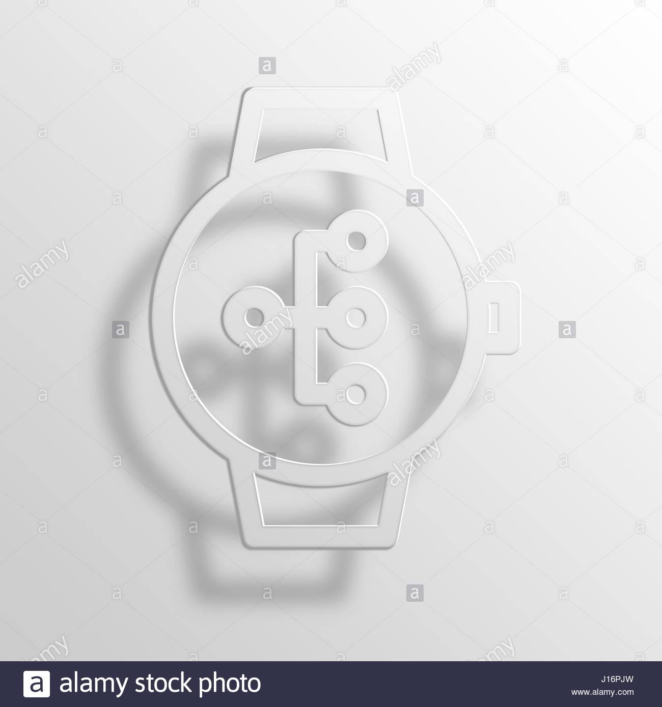 Smartwatch flow chart 3d paper icon symbol business concept no smartwatch flow chart 3d paper icon symbol business concept no6909 nvjuhfo Choice Image