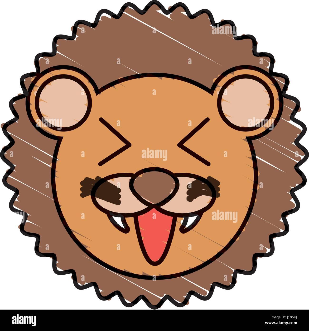 Uncategorized Cute Lion Drawing cute lion drawing animal stock vector art illustration animal