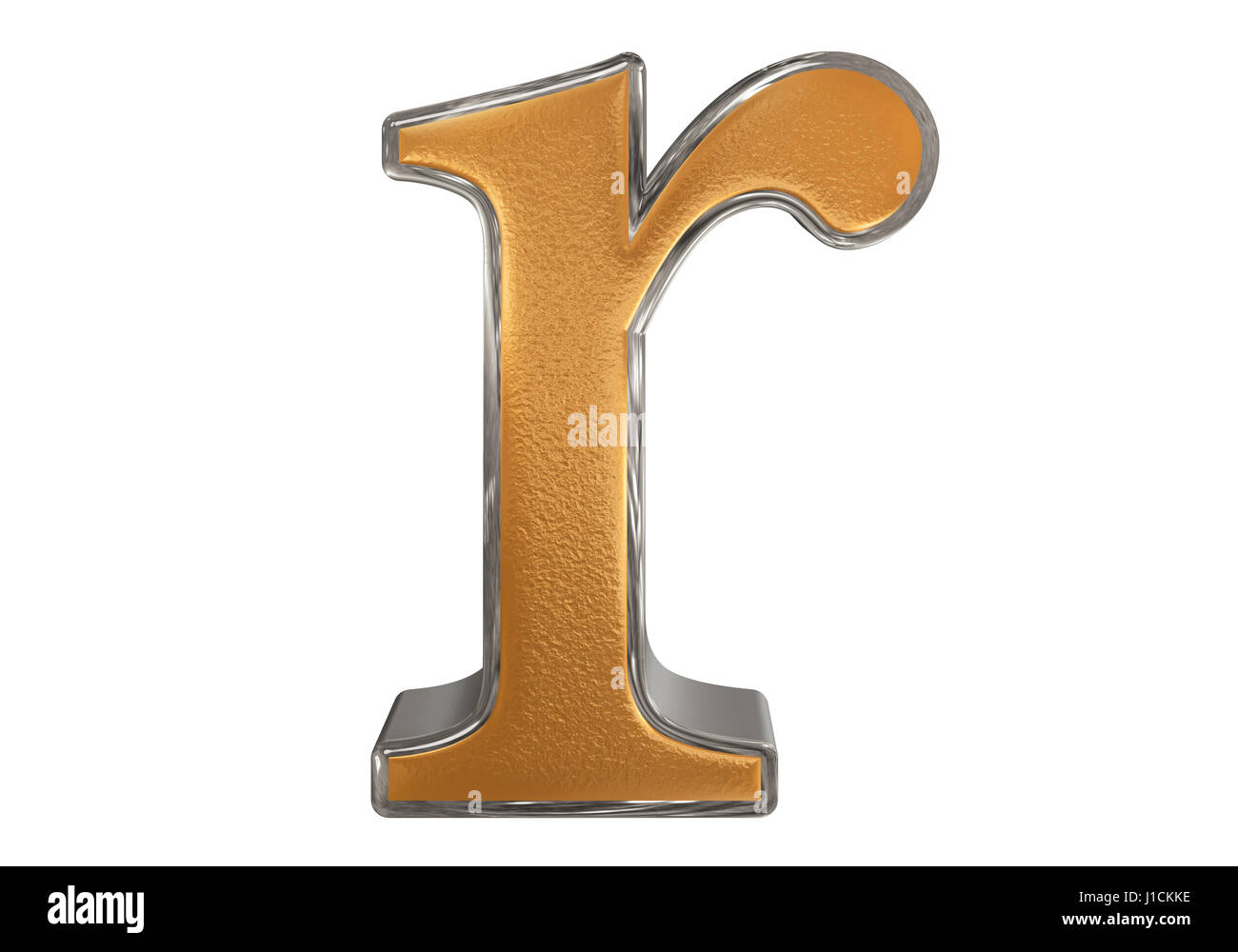 Lowercase letter r isolated on white with clipping path 3d stock lowercase letter r isolated on white with clipping path 3d illustration thecheapjerseys Images