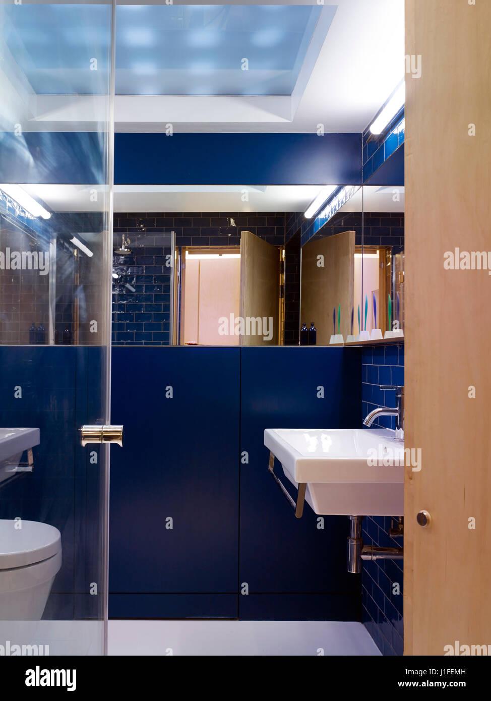 Bathroom. Fitzrovia Mews, London, United Kingdom. Architect: Norton ...