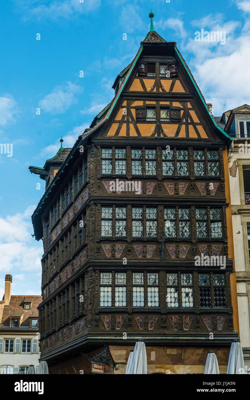 Strasbourg france april 13 2017 maison kammerzell for Reso strasbourg